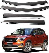 4pcs Deflettori Vento Auto per Kia KX3 2020 2021,