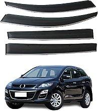 4pcs Deflettori Vento Auto per Mazda CX-7 CX7