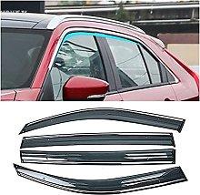 4pcs Deflettori Vento Auto per Mitsubishi Eclipse