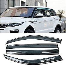 4pcs Deflettori Vento Auto per Range Rover Evoque