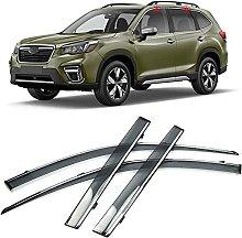 4pcs Deflettori Vento Auto per Subaru Forester