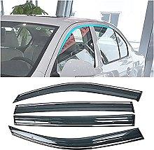 4pcs Deflettori Vento Auto per Subaru Outback 2015