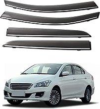 4pcs Deflettori Vento Auto per Suzuki Alivio