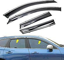 4pcs Deflettori Vento Auto per Volvo XC60