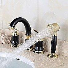 4Pcs Rubinetto per lavabo da bagno Rubinetto per