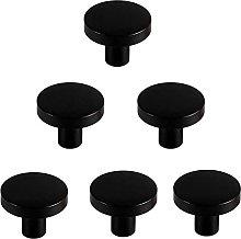 5/6 pezzi manopole nere per cassetti, manopole