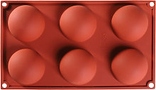 5 pezzi 6 fori stampo in silicone stampo da forno