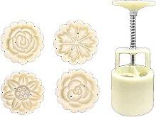 50 g di pasta a forma di fiori Mooncakes stampi