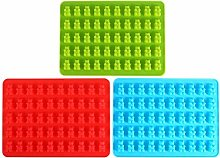 50 Stampo per caramelle in silicone, stampo in