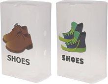555C151 - Scatola di scarpe da uomo, 33 x 20 x 12
