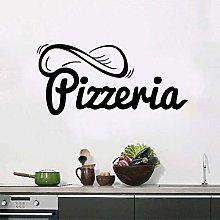 57X118Cm Adesivi Pizzeria Segno Pizza Ristorante