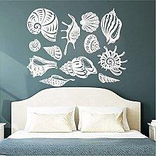 57X44 Cm Adesivo Murale Conchiglia Adesivo Murale