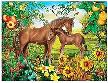 5D Diamond Painting Kit Completo Cavallo, Animale