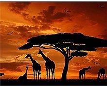 5D Diamond Painting Kit Completo Giraffa, Animale