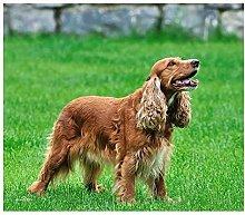 5D DIY Pet Dog Pittura Diamante Rotondo Inglese