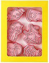 6 pezzi/set set di formine per biscotti tipo
