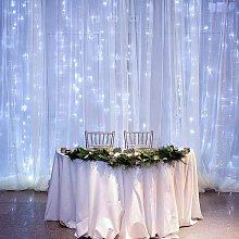 600 LEDs Tenda Luminosa 6m x 3m, Luce Stringa