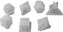 7 forme dadi filetto quadrato triangolo dadi