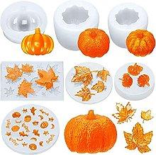 7 Set PSC Set Halloween Thanksgiving Pumpkin Maple