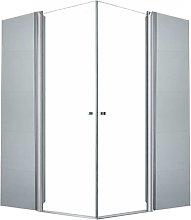 70x70x195 - Box doccia ad angolo - Doccia - Misure
