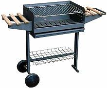 71760Â Barbecue con griglia zincati, Ruote e