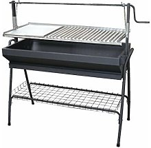 71763Â Barbecue con parrilla-plancha e Rialzo,