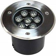7W Faretto Incasso 7 LED da Esterno 220v