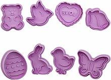 8 pezzi di natale biscotto taglierina fognino