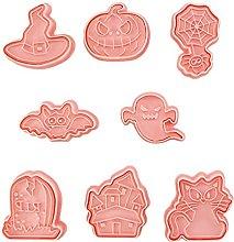 8 pezzi formine per biscotti di Halloween stampo