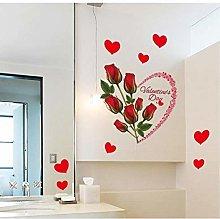 80 * 70 Romantico Rosa Rossa Amore Cuori