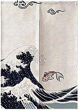 85 * 120 cm stile giapponese poliestere mezza
