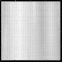 99% Ombreggiatura 2x2m Telo Parasole per Auto Tela