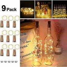 9x20 LED bottiglia luce, LED bottiglia di sughero