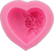 A Forma Di Cuore Rosa Ti Amo Stampo In Silicone