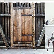 ABAKUHAUS Antico Tenda da Doccia, Rustico Rurale