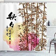 ABAKUHAUS bambù Tenda da Doccia, Giapponese di