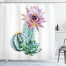 ABAKUHAUS Cactus Tenda da Doccia, Fiore di Cactus
