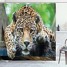 ABAKUHAUS Giungla Tenda da Doccia, Feline Wildcat