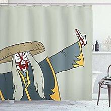 ABAKUHAUS Kabuki Tenda da Doccia, Vecchio