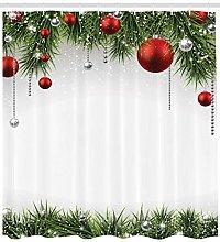 ABAKUHAUS Natale Tenda da Doccia, Albero Balls