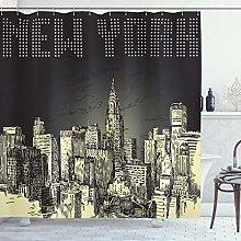 ABAKUHAUS New York Tenda da Doccia, Grunge Empire