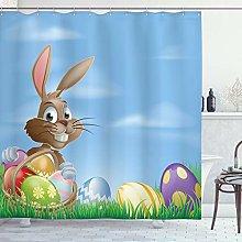 ABAKUHAUS Pasqua Tenda da Doccia, Uova dipinte di