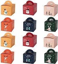 Abaodam, 24 scatole di mele di Christms per dolci