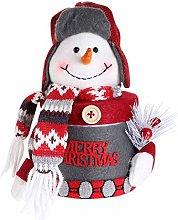 Abaodam - Scatola per caramelle natalizia, motivo: