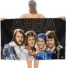ABBA double face pile asciugamani da bagno