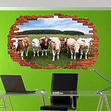 Abbinami Domestici Animali Da Allevamento Mucche