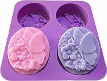 Abcidubxc - Stampo in silicone a forma di
