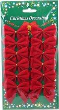 Abcrital - Albero di Natale Fiocco Decorazione