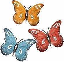 Abcrital - Arte della parete della farfalla del