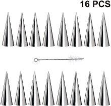 Abcrital - Confezione da 16 stampi per corno